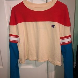 Cropped Champion Long-Sleeve